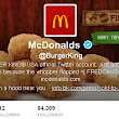 Burger King's Twitter Account Hacked, Rebranded to McDonald's