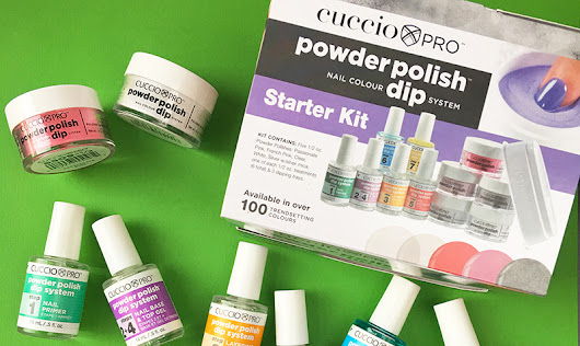 WE DIPPED INTO CUCCIO'S NEW POWDER POLISH