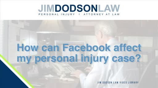 Warning: Facebook Can Hurt Your Personal Injury Case