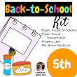 Back to School Fifth grade (5th) Kit {Brochure, Presentation, and More +)