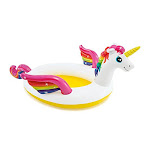 Intex Mystic Unicorn Inflatable Spray Pool 107 X 76 X 41 For Ages 2+