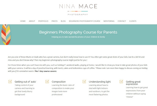 Beginner photography course Camberley Surrey