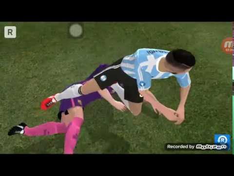 FC Barcelona vs Argentina ( 2-2 )Penalty ( 3-1) friendly cup