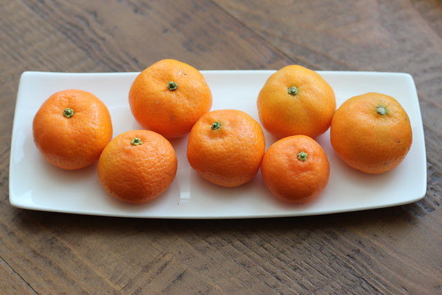 Winter Citrus: Kishu, Satsuma, Cara Cara Oranges