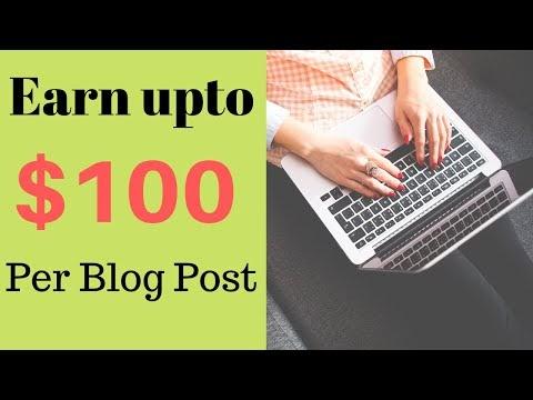 लिख कर पैसे कैसे कमाए | Ek Post Likh kar 100$ tak Kamaye