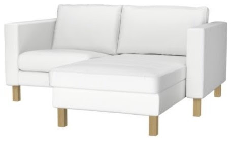 KARLSTAD Armchair and chaise lounge - modern - sectional sofas ...