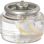 Hollowick HD8-90 8 Hour Disposable Clear Plastic Lamp / Fuel Cell
