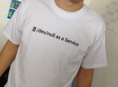 Home - /dev/null as a Service