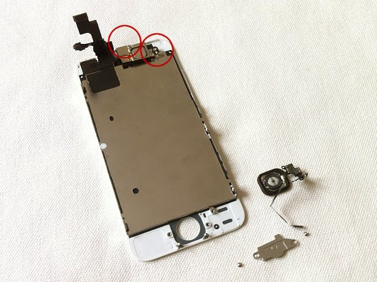 iPhone 5S disassembly stage 16