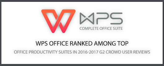 WPS Office Ranked Among Top Office Productivity Suites in 2016-2017 G2 Crowd User Reviews
