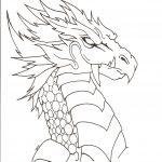 Dibujos De Dragones Para Colorear A Lapiz A Color