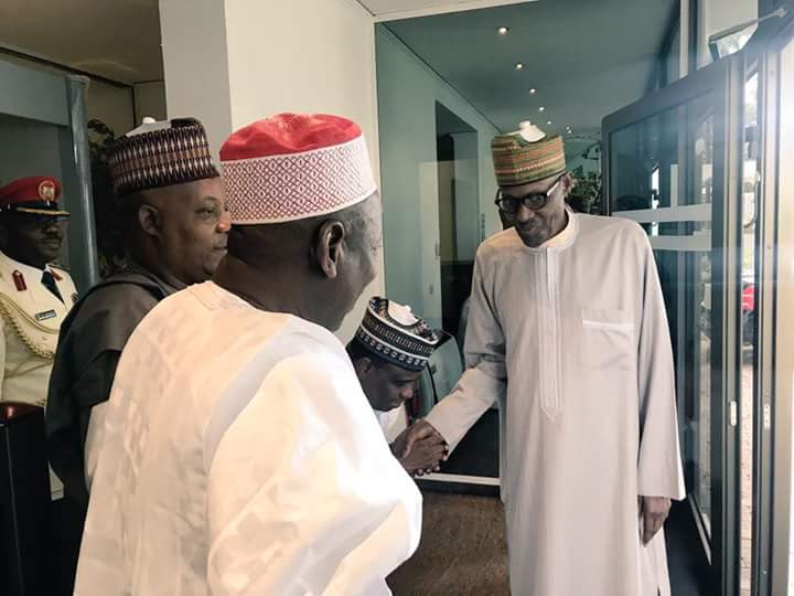 RationalTV: President Buhari Leaves For The USA After Meeting With Some Governors... Picture