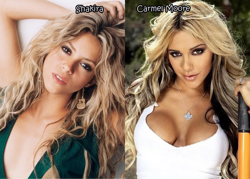 Lookalikes porn Celebrities and