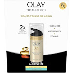 Olay Total Effects 7 in One Anti-Aging Moisturizer with Broad Spectrum SPF 15 Sunscreen 3.4 fl. oz. Carded Pack