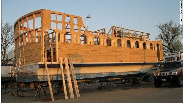 REETIME RAMBLE PHOTO: Man builds pirate ship, sells for $80,000 on