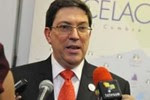 """""""Si la Unión Europea empieza a mirar a América Latina y el Caribe con una mirada respetuosa, de iguales, y no como viejas colonias, habrá una oportunidad"""", comentó el canciller cubano."""