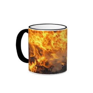 Burning Brush mug