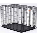 Midwest Container I-crate Black 42 Inch Single - 1542