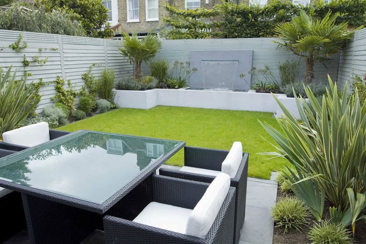 Small Modern Garden Design Ideas