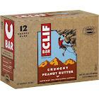 Clif Energy Bar, Crunchy Peanut Butter - 12 pack, 2.4 oz bars