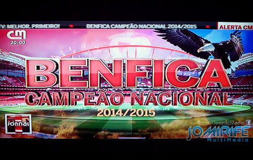 Benfica Campeão Nacional de futebol 2014-2015