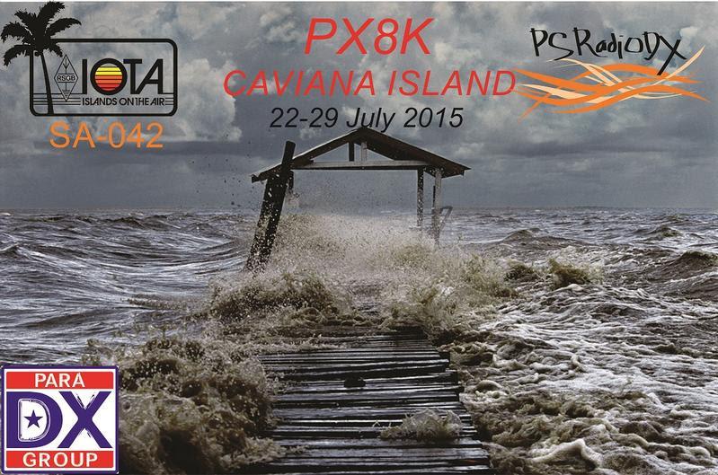 Caviana de Dentro Island PX8K QSL