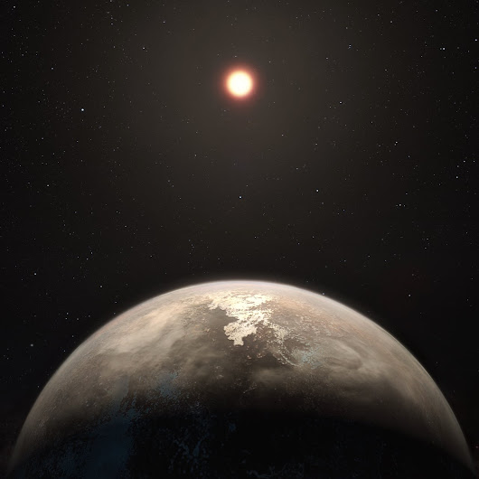 Closest Temperate World Orbiting Quiet Star Discovered - ESO's HARPS instrument finds Earth-mass exoplanet around Ross 128