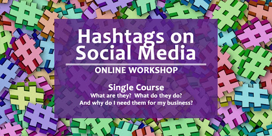 Online Workshop Flash Sale: Learn Hashtags for Social Media