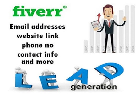 bithiafin : I will do lead generation, web research for $10 on www.fiverr.com