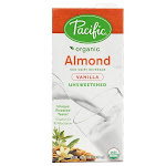 Pacific Natural Unsweetened Vanilla Almond Beverage (12x32 Oz)