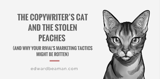 The Copywriter's Cat and the Stolen Peaches - Edward Beaman Copywriter
