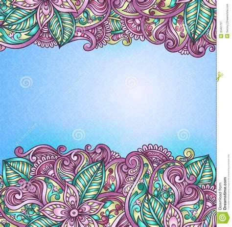 Vintage pattern. stock vector. Image of decoration, ornate