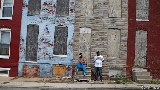 Crime and despair in Baltimore