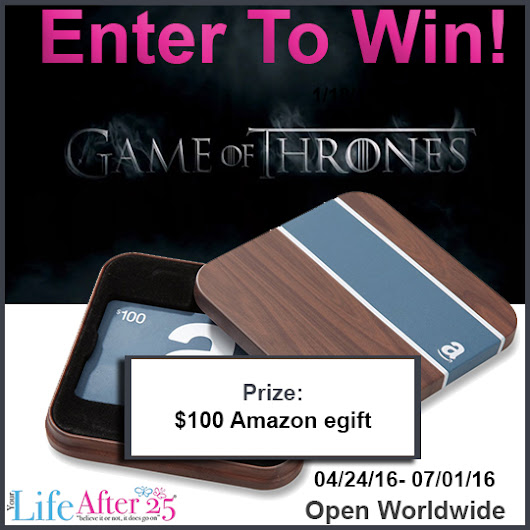 Enter To Win: Game of Thrones Fan Giveaway! - Your Life After 25: