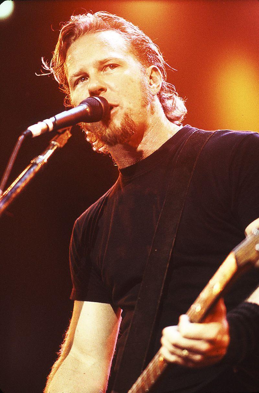 James Hetfield  James Hetfield  Metallica  Pinterest