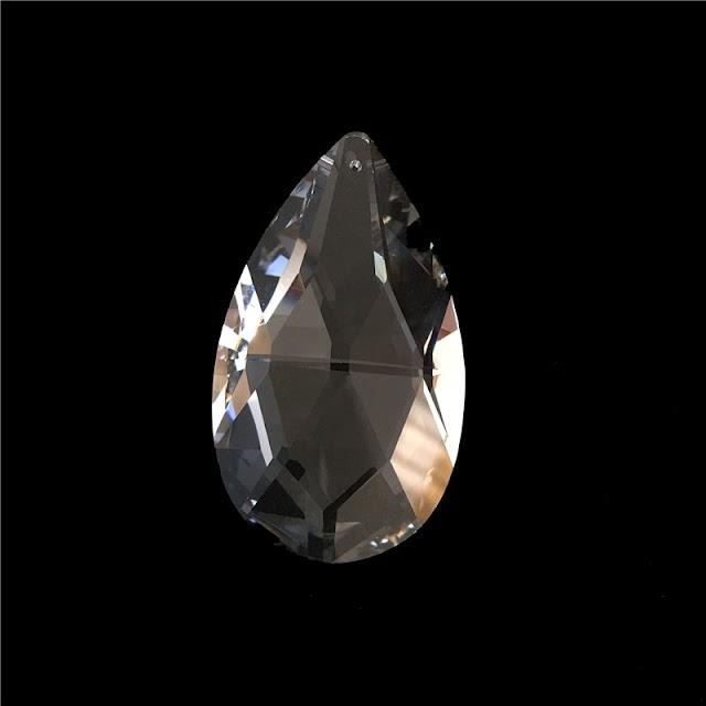 Goede Kopen 63mm Helder Kristal Kroonluchter Netto Hangers Een Gat Crystal Glazen Voor Wedding Decor Goedkoop