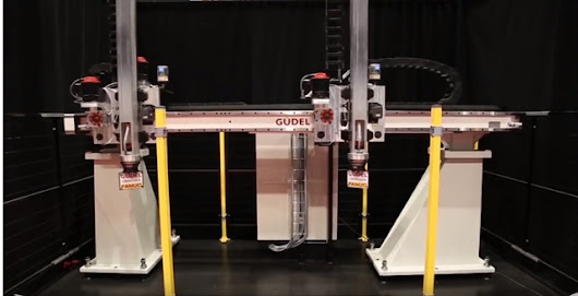 Video: 'Big and Fast' Custom Gantry Automation