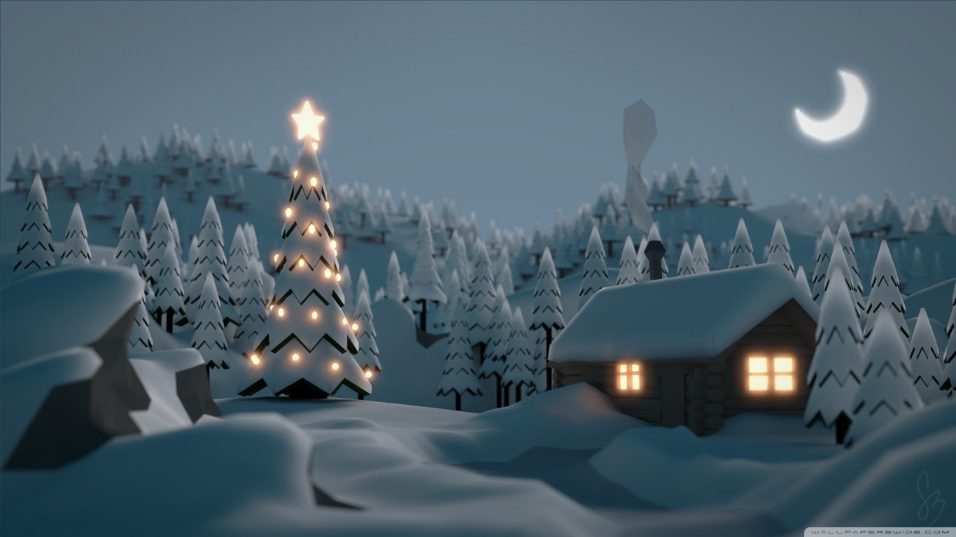 Christmas Home Tree Wallpaper Hd Like Wallpapers