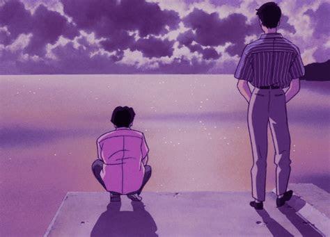 purple anime aesthetic tumblr