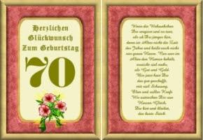 Bilder 70 Geburtstag Zum Ausdrucken Geburtstagssprüche Karte