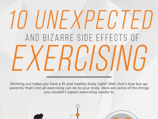 10 Unexpected And Bizarre Side Effects Of Exercising