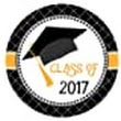 Amazon.com: Graduation Cap Class of 2017 Sticker Labels - Set of 30: Handmade
