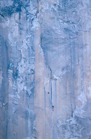 tiny El Cap climbers