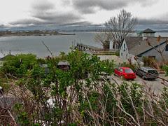The Inn on Peaks Island – western vista to Por...