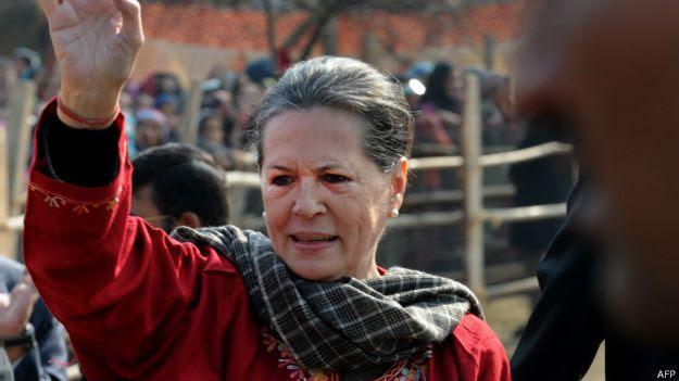 सोनिया गांधी, कांग्रेस