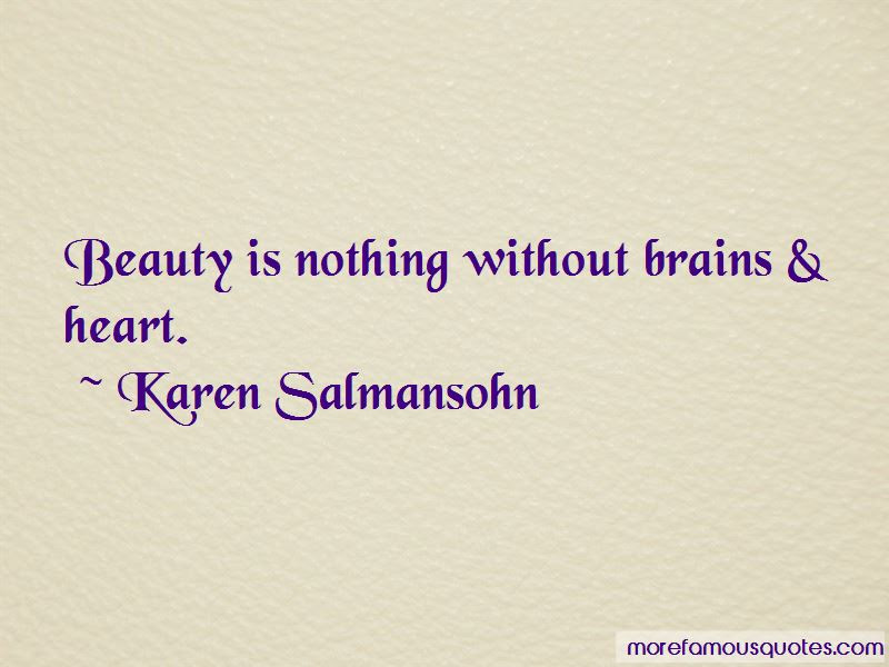 Quotes About Beauty Without Brains Top 3 Beauty Without Brains