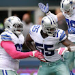 Dallas Cowboys' rise keyed by offensive line, Rolando McClain