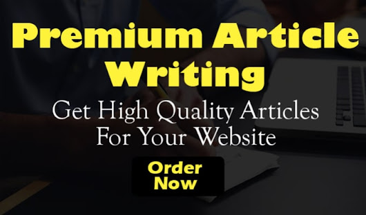 michelle234 : I will write 500 words SEO article within 24 hours for $5 on www.fiverr.com