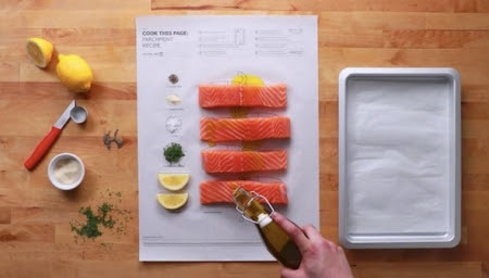 IKEA's Ingenious Recipe Posters That You Have To Cook To Make Effortless Meals - DesignTAXI.com