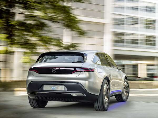 Mercedes-Benz Generation EQ Concept Previews Daimler's New ...